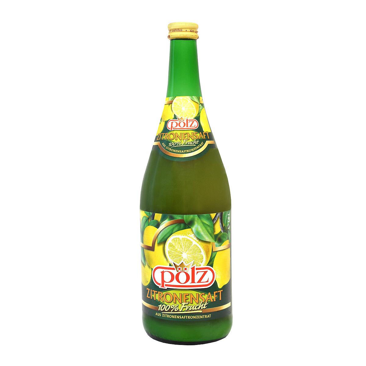 Zitronensaft Inhaltsstoffe